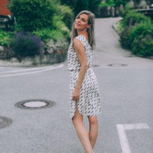Obleka Zebra / Dress Zebra