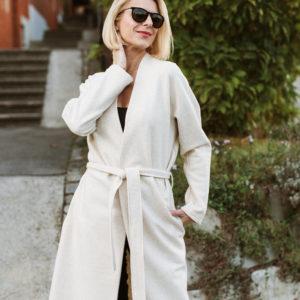 Plašč Classic / Coat Classic beige