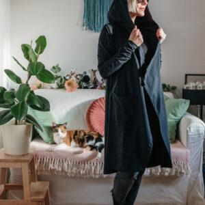Jopa s kapuco Sanya / Hooded cardigan Sanya